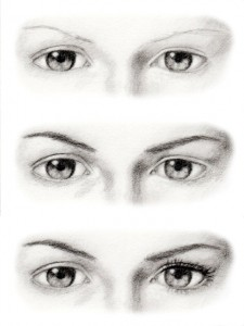 How To Draw Eyes Like Sketch