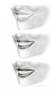 how to draw a smile3