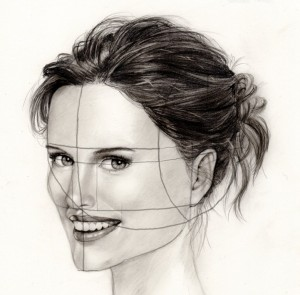 Again practice makes perfect and the more faces you draw using this ...