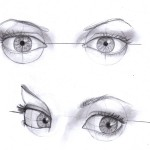 Drawing Eyes From an Angle